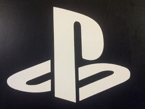 Details About Sony Playstation Logo Vinyl Sticker Play Station Vita Psx Console Ps Game