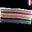 Indexbild 1 - Lot 2X Serviette Drap ou Tapis de bain 100% Coton 50 x 70 cm 450gr/m2 8 couleurs