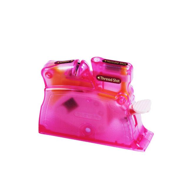 Clover Needle Threader Desk Pink | 304073