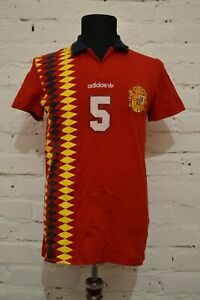 preferir profesional nivel  Adidas Fútbol FEF España Euro 2012 Vintage Polo De Algodón Talla S X27970  Rara | eBay