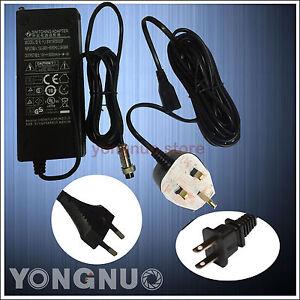 AC Adapter Power Switching Charger DC for Yongnuo YN1200 YN760 UK / EU / US Plug