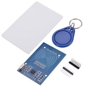 MODULO ARDUINO LECTOR RFID RC522 TARJETA 13,56 Mhz MIFARE LLAVERO TAG SENSOR PIN