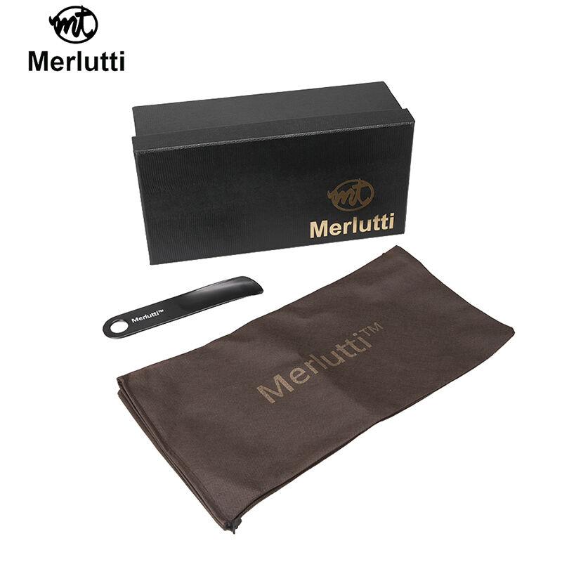 Merlutti Einfach Schwarz Schwarz Schwarz Stoff Rauchen Pantoffeln für Herren Flache 6274c1