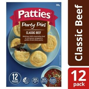Patties-Frozen-Party-Classic-Beef-Pies-12-pack-560g