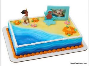 Image Is Loading Moana Hawaii Party CAKE Topper Decoration Birthday Cupcake