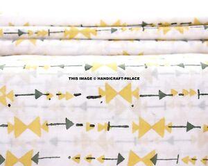 Indian-Hand-Block-Print-Cotton-Fabric-Natural-Printed-Handmade-Sanganeri-By-Yard