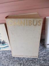 Omnibus, Bibliothek und Lexikon, herausgegeben von Erich Wiegand