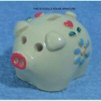 Piggy Bank, Dolls House Miniature 1:12th Scale, Nursery
