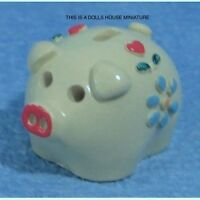 Piggy Bank, Dolls House Miniature 1:12th Scale, Nursery