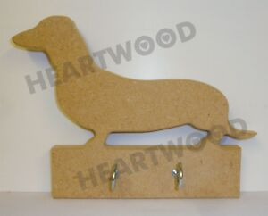 Dachshund MDF Freestanding Personalised Sausage dog Wooden Engraved