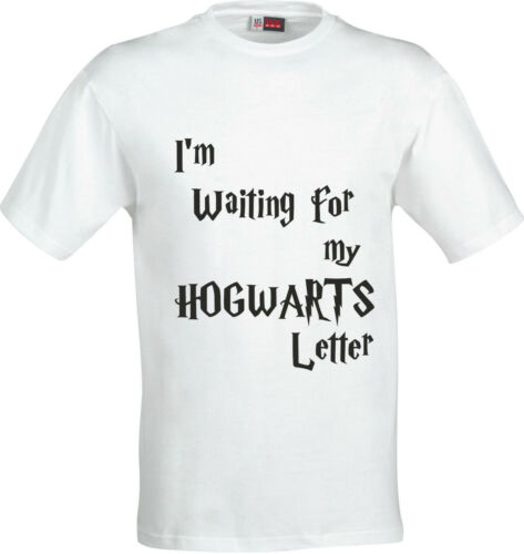 IM WAITING FOR MY HOGWARTS LETTER HARRY POTTER  COTTON CHILDS T SHIRT