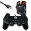 miniatura 1 - USB Cablato DUAL VIBRATION GAMEPAD controller di gioco Nero/Gembird congiunto UDV-01