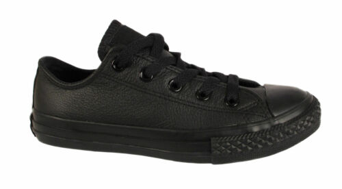 New Converse Leather Boys /& Girls Kids Infant Sneaker Trainers Shoes Size UK10-2