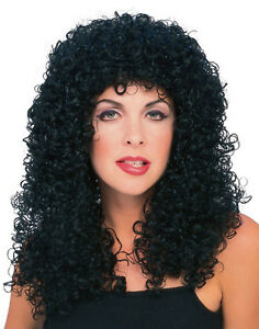 Womens tight curly perm wig ebay image is loading womens tight curly perm wig solutioingenieria Choice Image