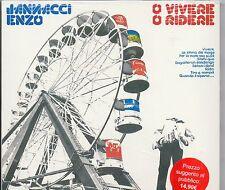 ENZO JANNACCI  CD  O vivere o ridere  MADE in EU 2011 sigillato