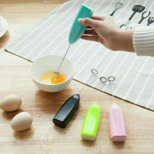 Useful Electric Milk Frother Drink Foamer Whisk Mixer Stirrer Coffee Egg beater
