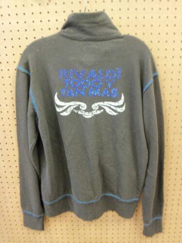 Black Mens Large Zipper Dorry Rivista Jacket New qzxTt4