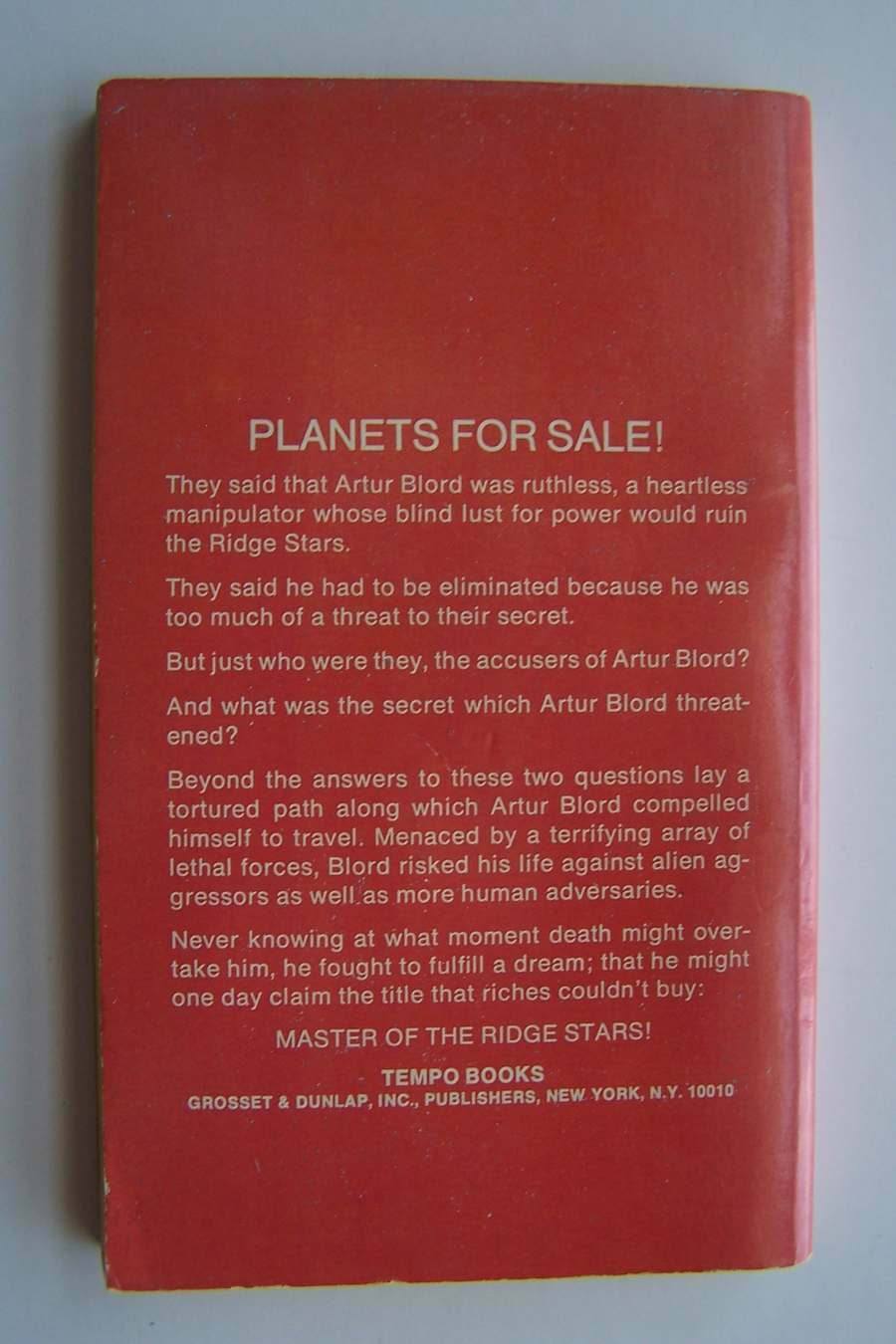 Planets for Sale Paperback by A E Van Vogt