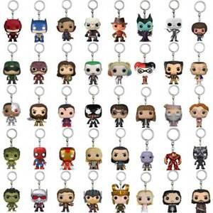 Keychain-Funko-Pocket-Pop-Groot-Thor-Dead-Pool-Vinyl-Spider-Iron-Man-Venom
