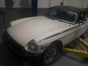 1979 MG MGB MARK  1V Coupe (2 door)