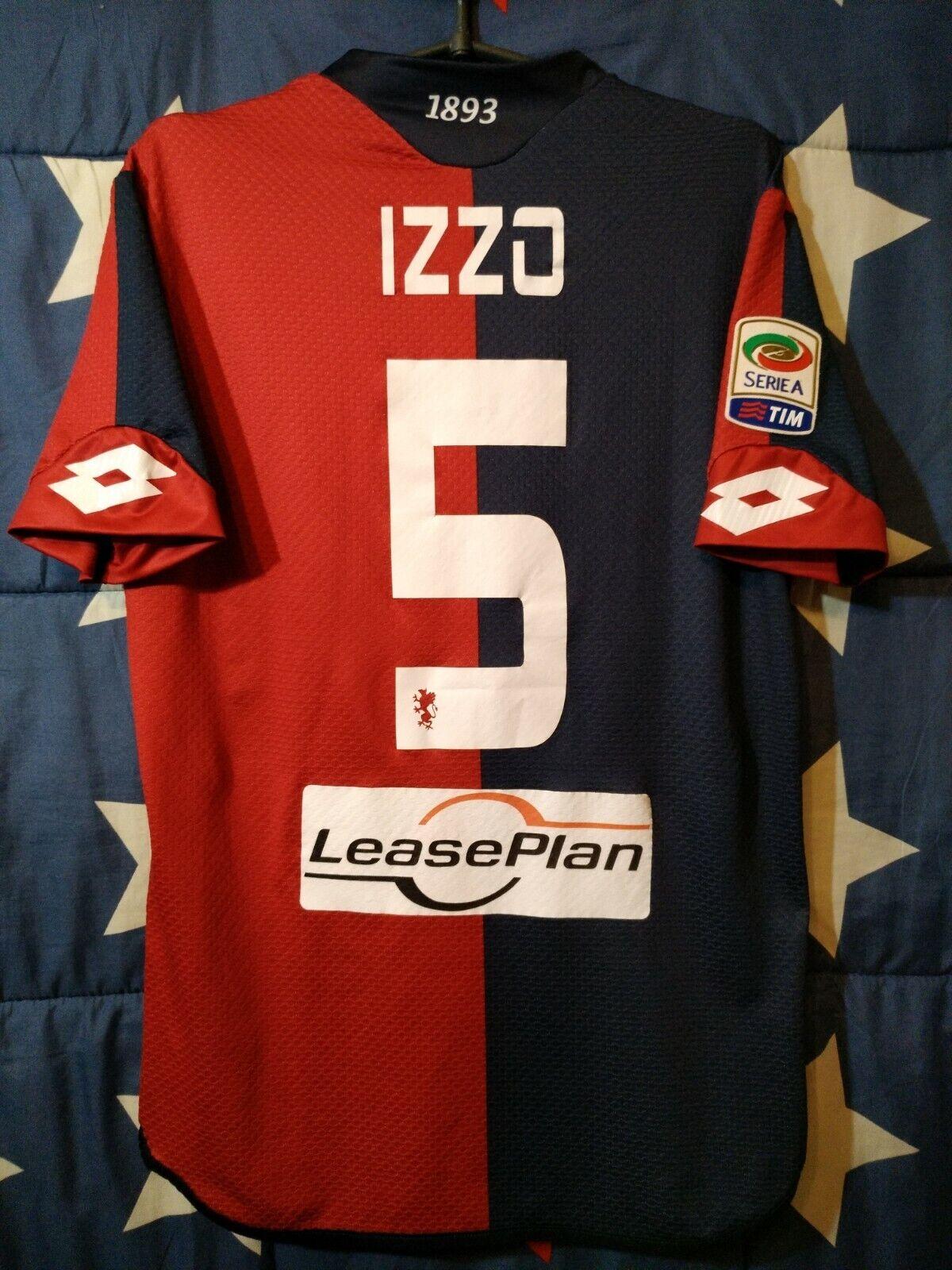 Dimensione M Genoa  20152016 Home Football Shirt Jersey Izzo  5