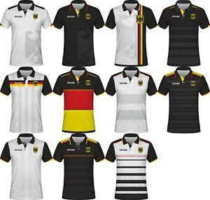 dada52471 FIFA WORLD CUP 2018 Germany Deutschland Football Polo T-Shirt NEUER ...