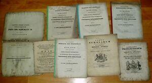 Goettingen-alte-Dokumente-Broschueren-Universitaet-19-Jhdt-1850-academiae-gottingae