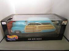 HOT WHEELS 1/18 1950 MERCURY WOODIE NEW *BOX IN POOR SHAPE*