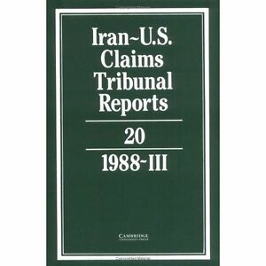 Iran-United-States-Claims-Tribunal-Reports-Hardcover-Brand-New-Free-P-amp-P-in