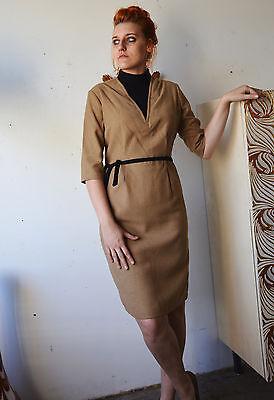 Aggressivo Donna Invernale Abito Vestito Abito True Vintage 80´s Ladies Dress 40´s Style-mostra Il Titolo Originale