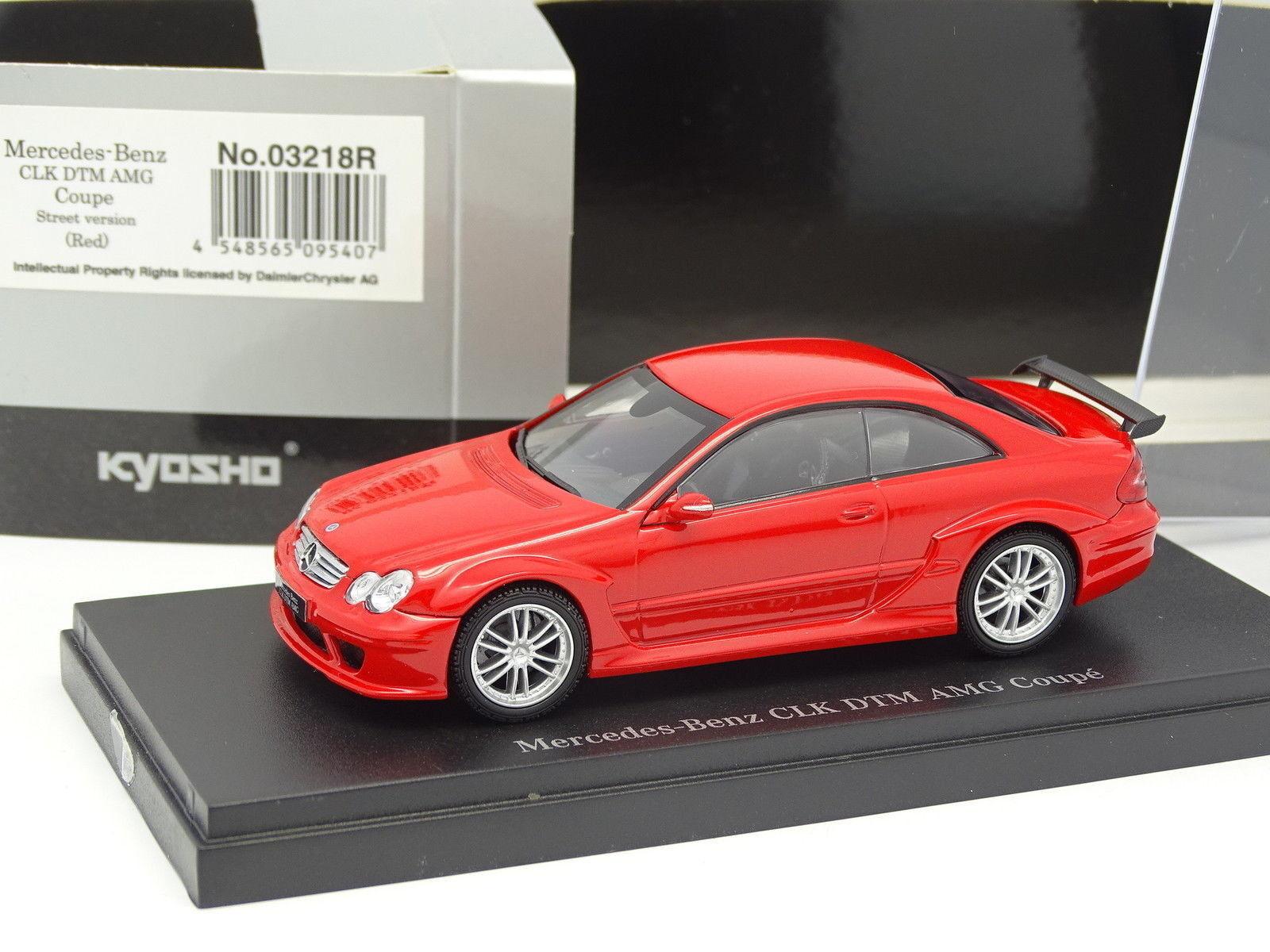 suministro directo de los fabricantes Kyosho 1 43 43 43 - Mercedes CLK AMG DTM Coupé Rojo  punto de venta en línea