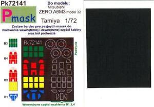 Model-Maker-1-72-MITSUBISHI-A6M3-MODEL-32-ZERO-Paint-Mask-Set-for-Tamiya-Kit
