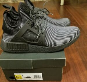 27755922cd5c1 Adidas NMD XR1 Core Triple Black Pk Primeknit S32211 Size 10.5 Ultra ...