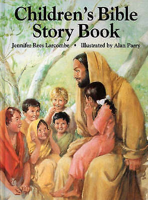 """""""AS NEW"""" Rees Larcombe, Jennifer, Children's Bible Story Book, Hardcover Book"""