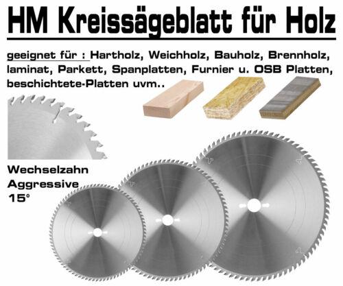 Hartmetall Kreissägeblatt 400 x 30 mm x 84 Zahn Holz Kreissäge Tischkreissäge XT