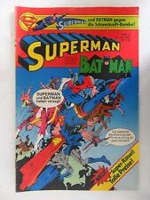 1 x Comic  Superman Batman  Nr.10  mit Sammel Ecke  (Mai 1981)    Z. 2