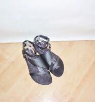 NEW Blowfish womens DORIS black man made ankle strap sandals - various sizes