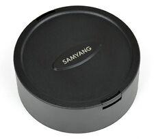 Samyang Lens Cap 7.5mm MFT and 8mm f2.8 Fisheye