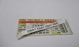 TV-On-The-Radio-Concert-Ticket-Stub-10-21-2008-First-Avenue-Minneapolis-MN