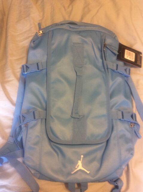 Nike Jordan Jumpman Backpack PBZ698 School Bag Carolina Blue Elite Basketball