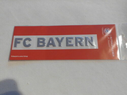 FC Bayern München Autoaufkleber  Aufkleber Neu siehe Fotos