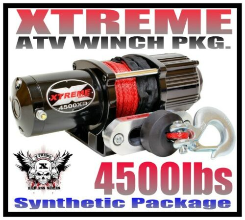 4500LB XTREME ATV WINCH KIT 16-18 YAMAHA GRIZZLY 700 4x4 /& KODIAK 700 4X4 4500