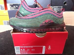 Details about Nike Air Max 97 NRG Jacket Pack Team Red Midnight Spruce 1 90 95 720 AT6145 600