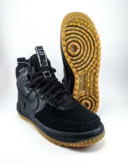 quality design 2b731 b223b Nike Lunar Air Force 1 Duckboot Black Mens Size 6 805899-003 FREE PRIORITY