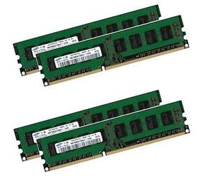 4x-4GB-16GB-Fujitsu-ESPRIMO-E500-D2991-1333-Mhz-Samsung-Speicher