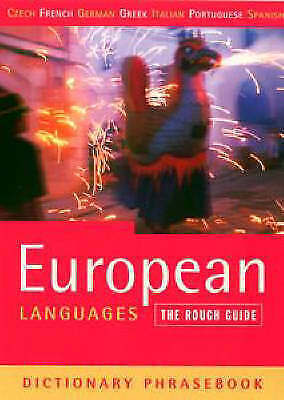 Lexus, The Rough Guide to European Languages (A Dictionary Phrasebook), Very Goo