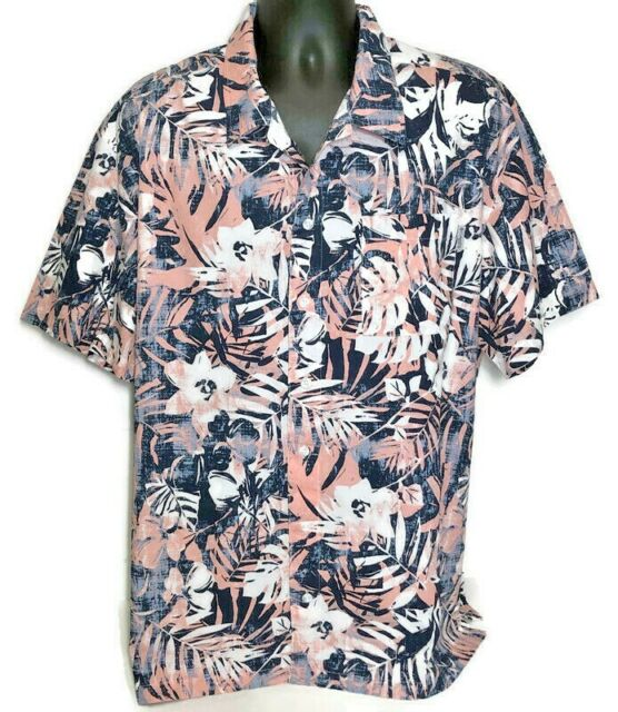 Columbia PFG Trollers Best Vented S//S Button Front Shirt Fish Print Men/'s L New