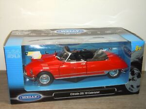 Citroen-DS19-Cabriolet-Welly-1-24-in-Box-33231