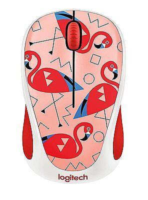 Logitech Wireless Mouse M317 M325 Flamingo