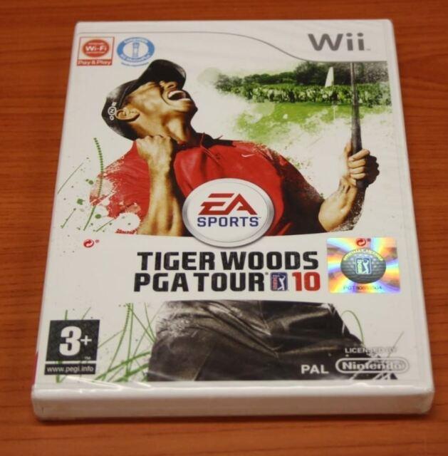 JEU Nintendo WII Jeu Tiger Woods PGA Tour 10 2010    neuf blister
